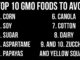 Top 10 GMO Foods to Avoid (VIDEO)