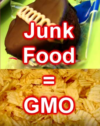 junk food GMO Foods? How To Tell, Truth About Genetically Modified Foods & GMO Label (VIDEO)