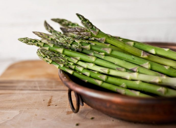 Folic acid or also called vitamin B9 is also in asparagus