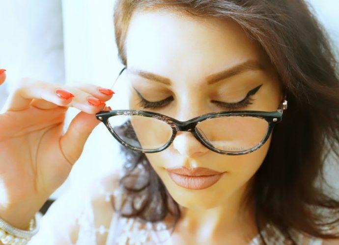 Progressive eyeglasses for women